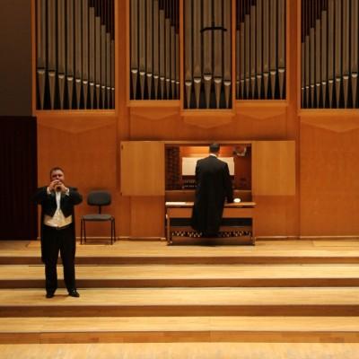 Ismét megszólalt a Bartók terem orgonája Szamosi Szabolcs koncertjén