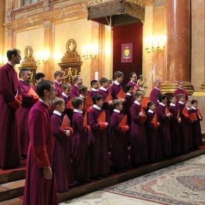 A Westminsteri Katedrális Kórusa a Szombathelyi Székesegyházban