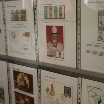 Bélyeg és képeslap kiállítás az Oladi Iskolában