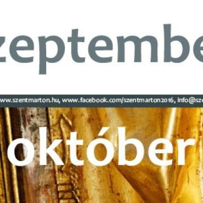 Szeptember - október leporelló