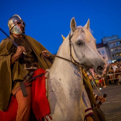 Szent Márton többszörösen jelen volt az idei Savaria Történelmi Karneválon