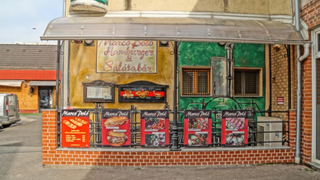 a25403a785c9 Marco Polo Hamburger és Salátabár - Gyorséttermek - SzombathelyPont